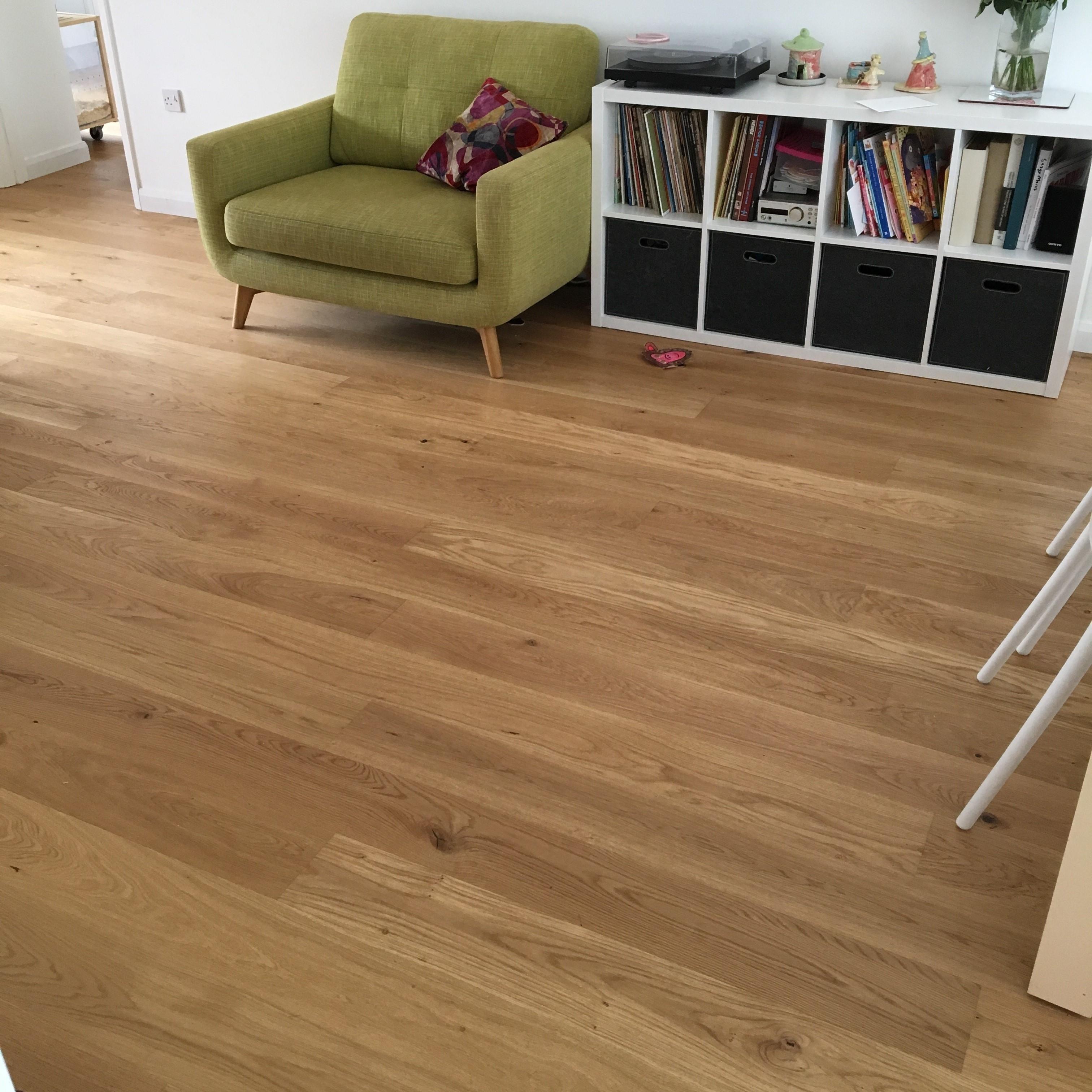 Tarkett European Oak Rustic Hardwax Oil Engineered Wood Flooring
