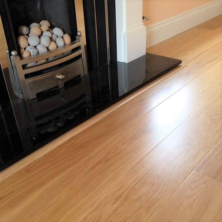 Tarkett European Oak Nature Satin Lacquer Engineered Wood Flooring