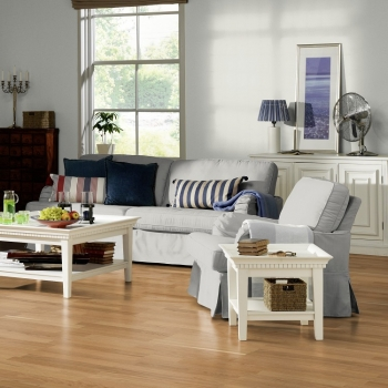 Tarkett Salsa Oak Nature 3 Strip Engineered Wood Flooring