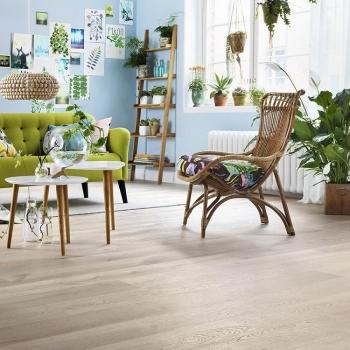 Tarkett Atelier Heritage Oak Limestone Engineered Wood Flooring
