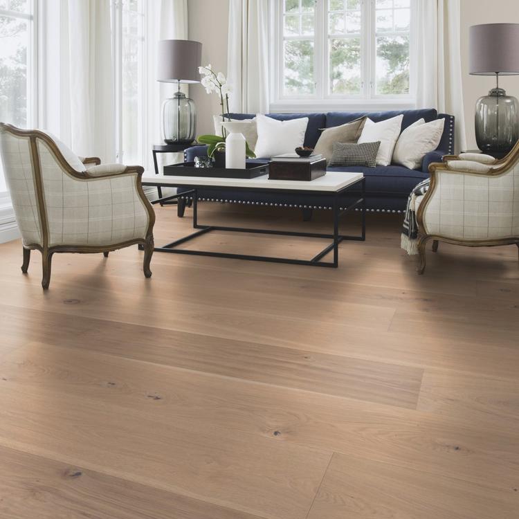 Boen chalet oak traditional white oiled 20mm engineered for Chalet flooring
