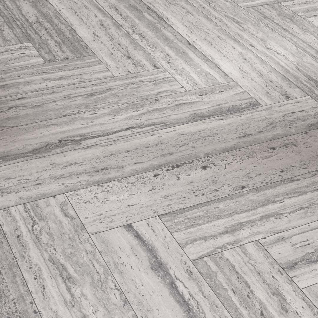 Parador New Travertine Stone Texture, Black Travertine Laminate Flooring