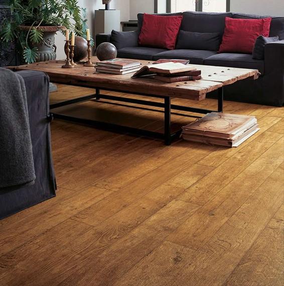 Quick Step Perspective Harvest Oak Laminate Flooring Save More At