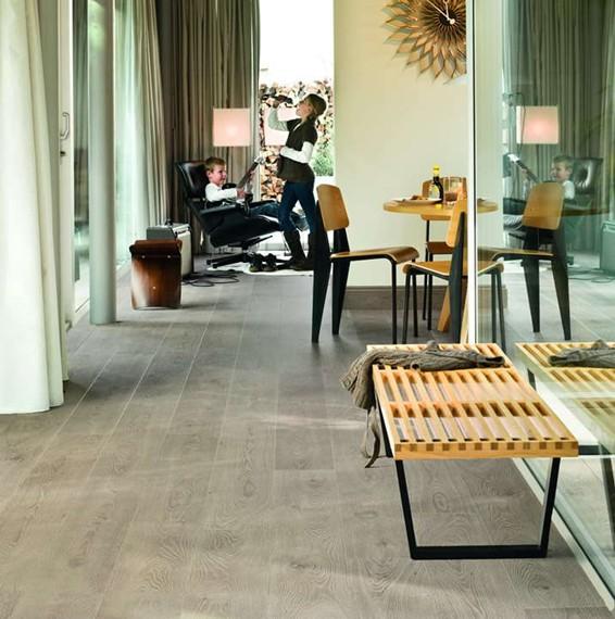 Quick Step Largo White Vintage Oak Laminate Flooring Save More At