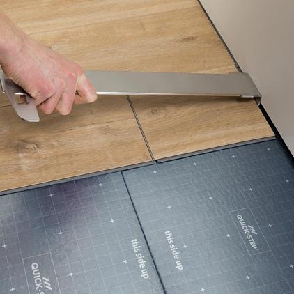 quick step livyn lvt installation tool save more at hamiltons. Black Bedroom Furniture Sets. Home Design Ideas