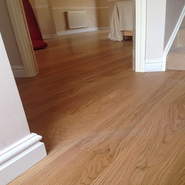 Tarkett Oak Nature 1 Strip Plank 162mm Natura Matt Lacquer