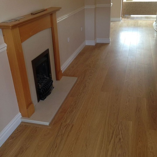 Solid Oak Perimeter Wood Flooring Trim 3000mm Hamiltons