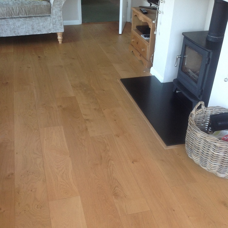 Solid Oak Perimeter Wood Flooring Trim 3000mm Save More