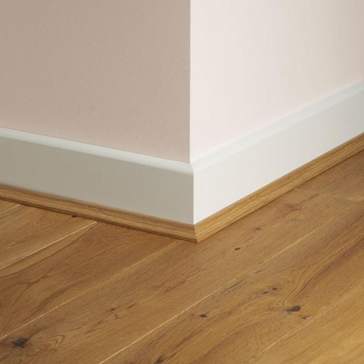 Solid oak scotia edge floor trim for wood flooring save for Laminate floor trim