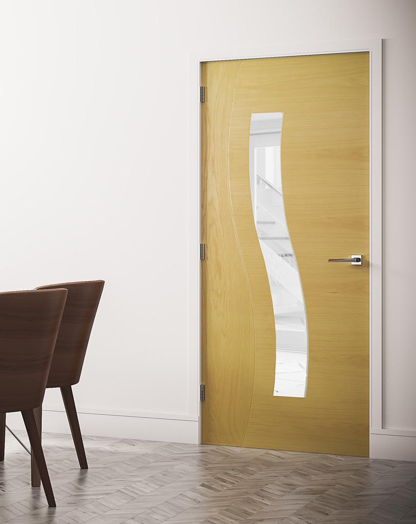 Deanta Oak Cadiz Standard Doors And Fd30 Fire Doors