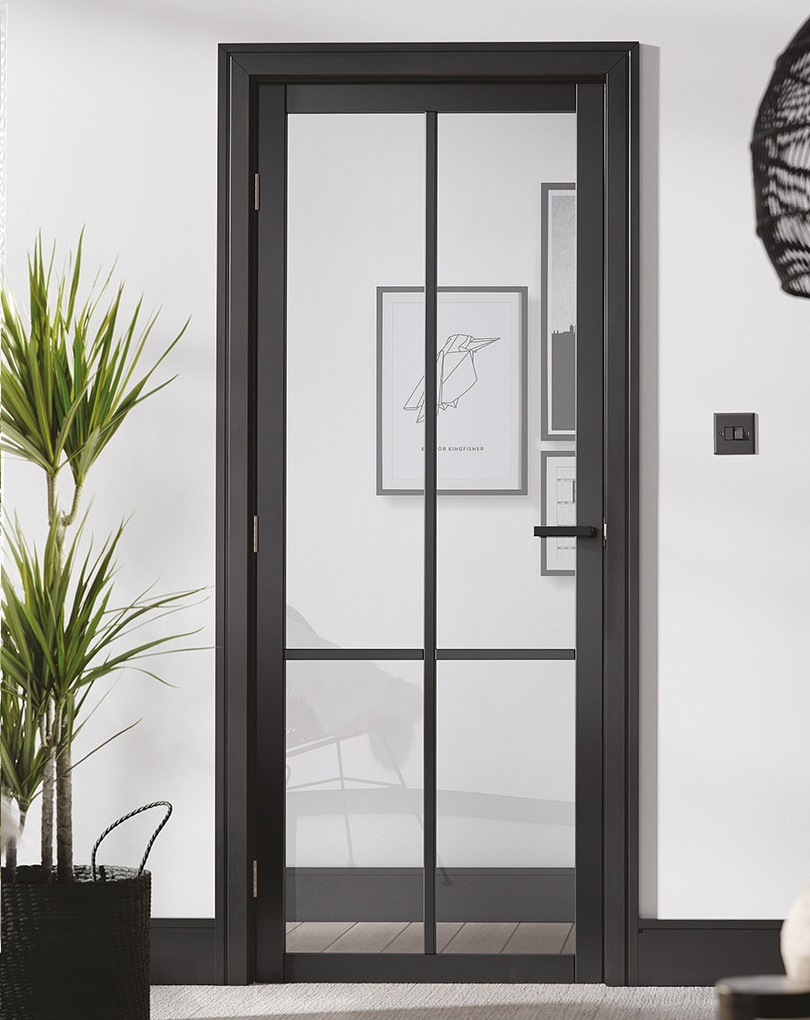 Lpd Industrial Style Liberty Solid Panel And Glazed Doors
