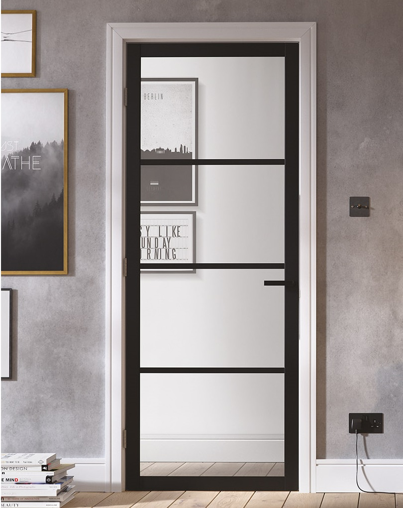 Lpd Industrial Style Soho Solid Panel And Glazed Doors
