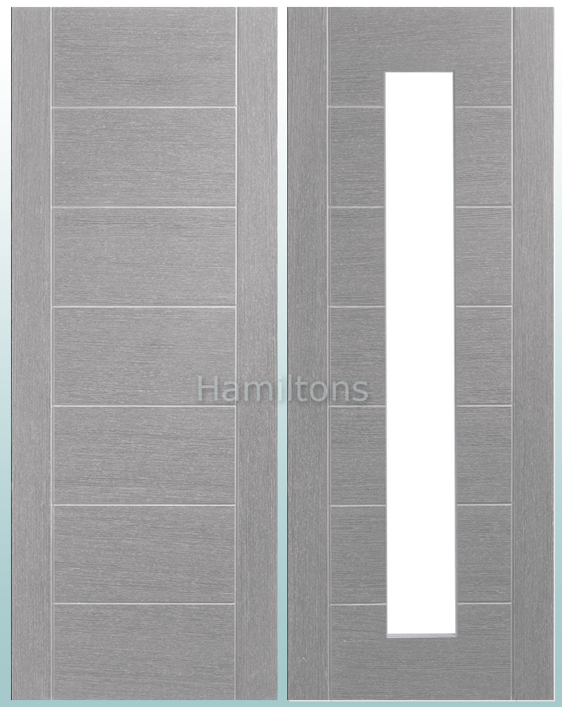 Xl Joinery Palermo Light Grey Panelled Or Glass Standard
