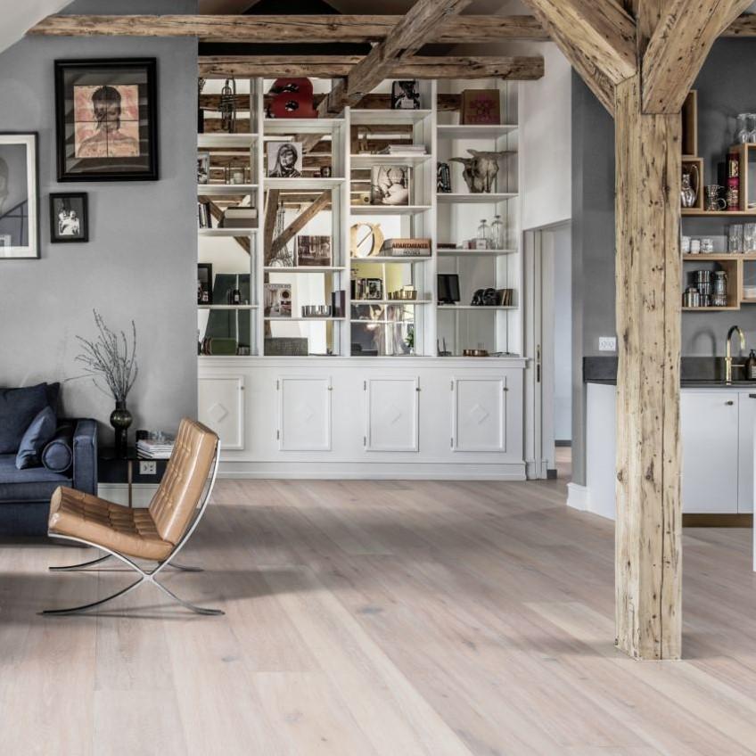 Kahrs Artisan Oak Oyster Engineered Wood Flooring Save