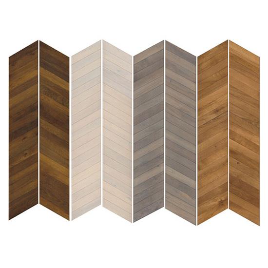 Kahrs Oak Chevron Grey Hand Scraped Wood Flooring Save