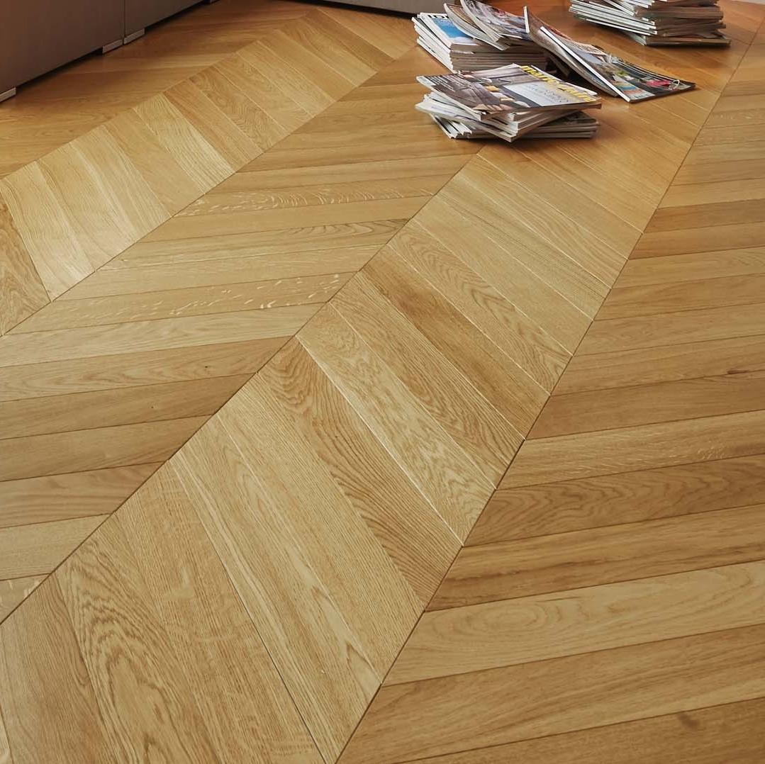 Chevron Floors Floors Now: Panaget Chevron Classic Satin French Oak Wood Flooring