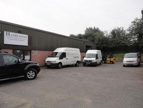 Hamiltons Door and Floor warehoue and factory